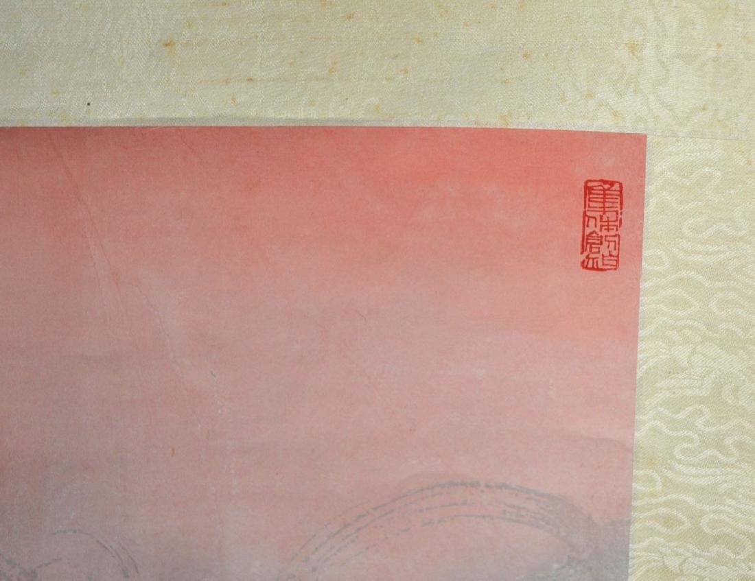 Chinese Cultural Revolution Hanging Scroll - 8