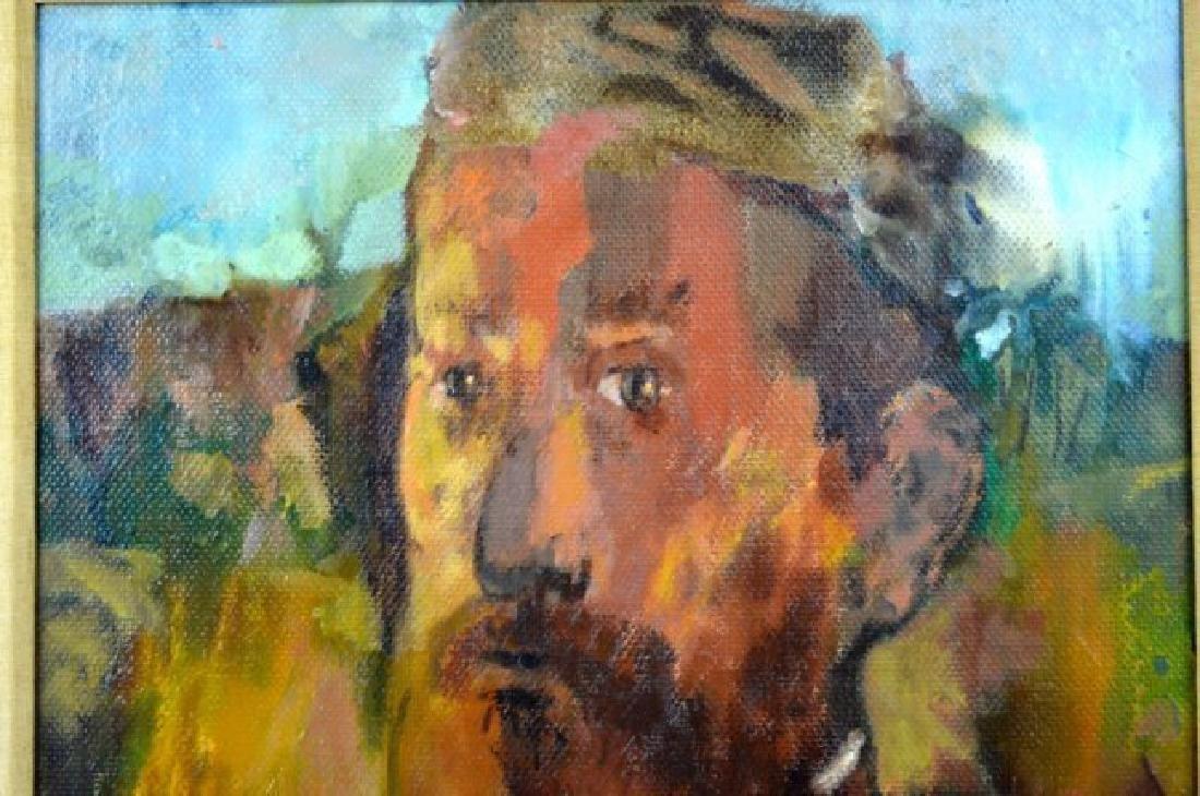 "Alexander Dobkin; ""The Teacher"" 1967 Oil - 2"