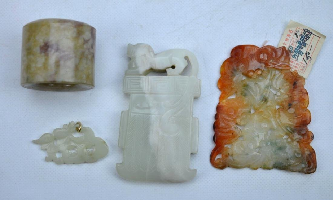 4 - Antique Chinese Carved Jades