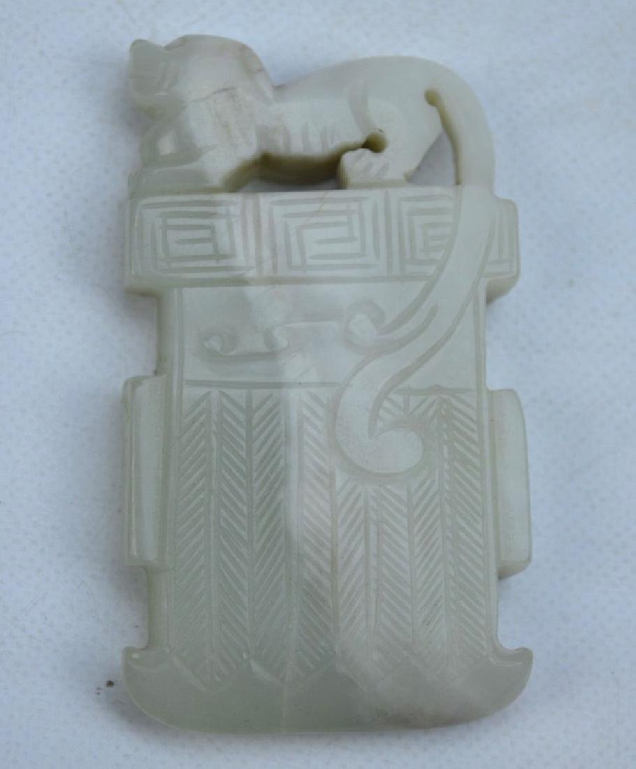 4 - Antique Chinese Carved Jades - 5