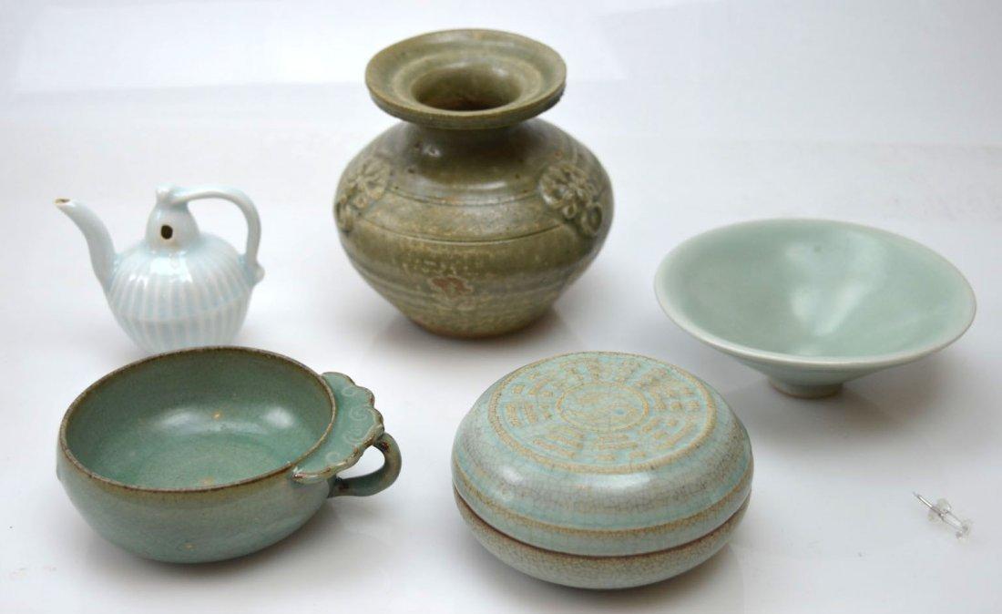 5 - Chinese Ceramics; Yuehyao, Longquan, Qingbai, etc.