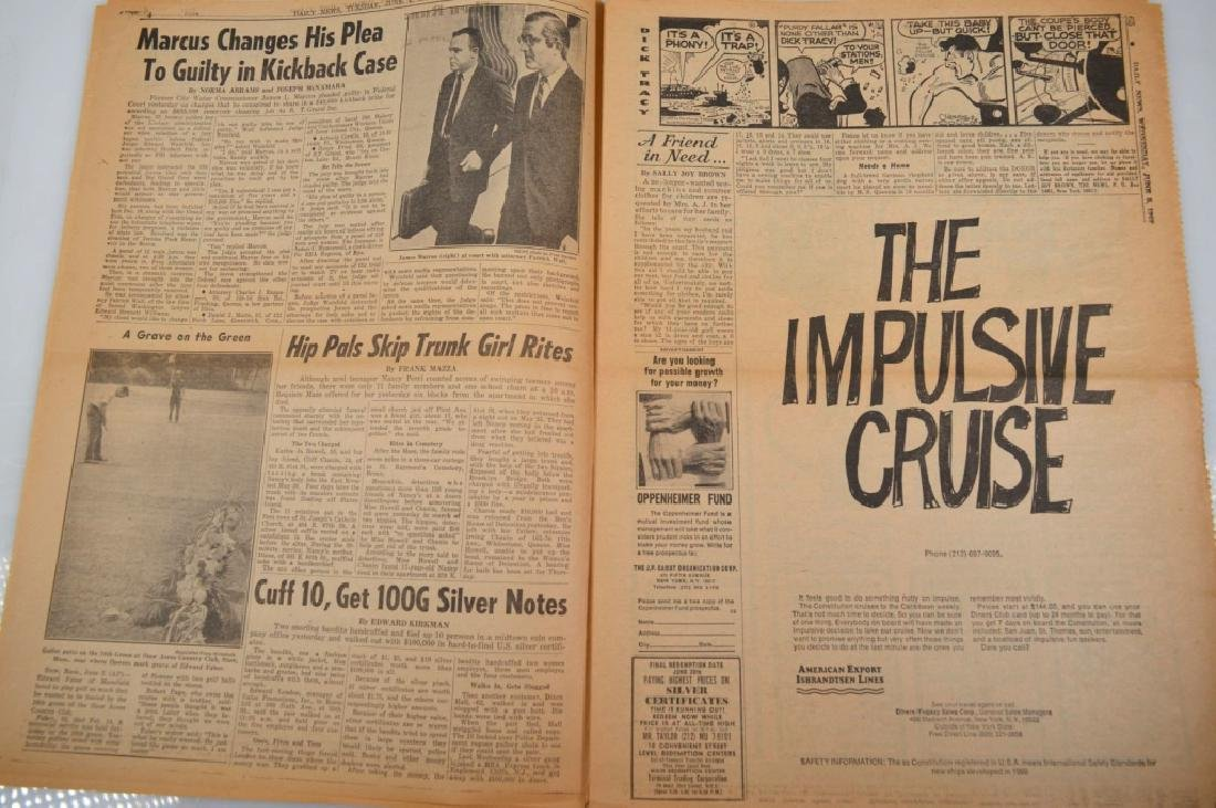 "Daily News 1968; ""Actress Shoots Andy Warhol"" - 4"