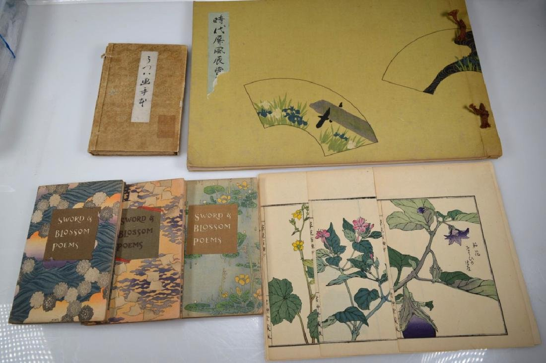 12 Items: Rockefeller; Japanese Books & Woodblocks