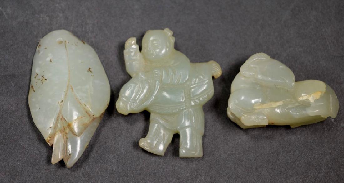 12 - Antique Chinese Carved Jades & Hardstones - 3