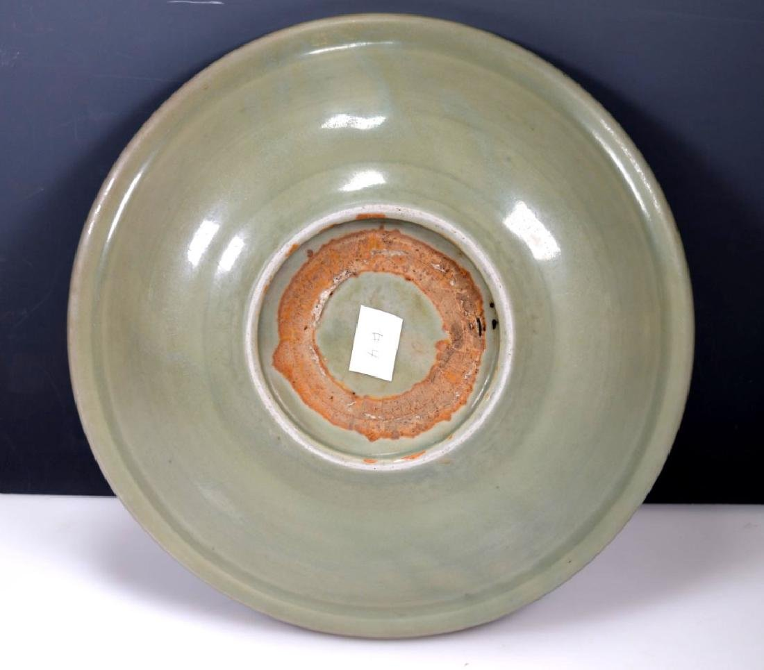 Ming Dynasty Chinese Longquan Lg Plate - 4