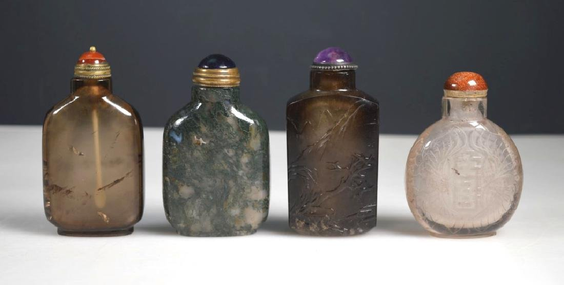 4 - 19th C Chinese Carved Snuff Bottles - 2