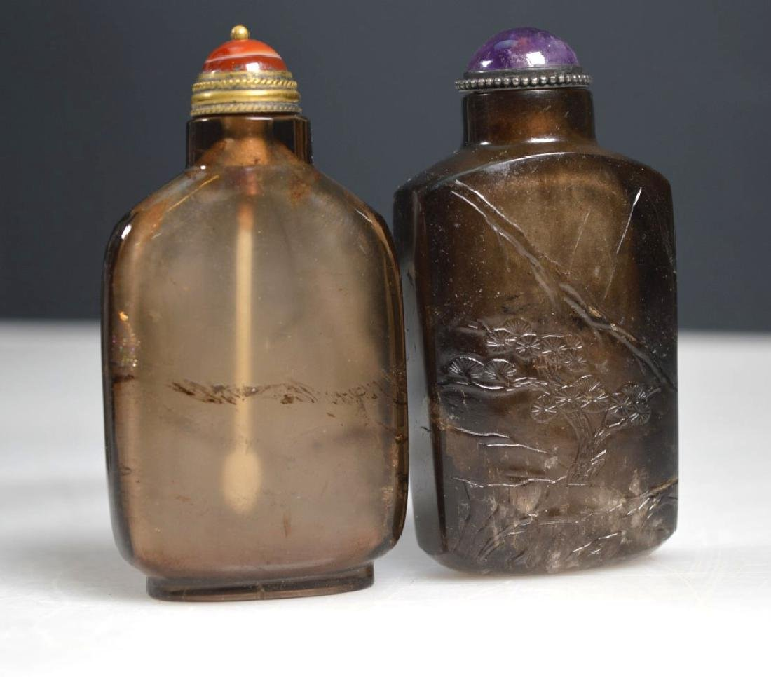4 - 19th C Chinese Carved Snuff Bottles - 4