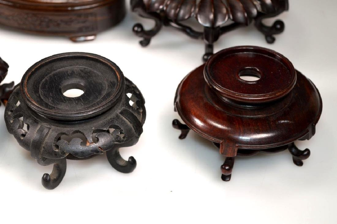 9 - Assorted Chinese Hardwood Stands - 3