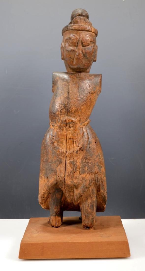 Christie's; Heian Japanese Wood Guardian