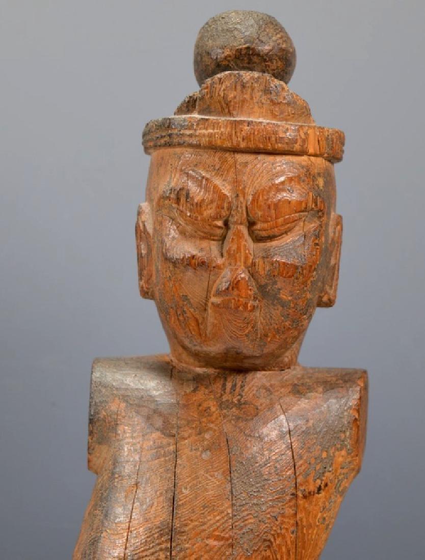 Christie's; Heian Japanese Wood Guardian - 2
