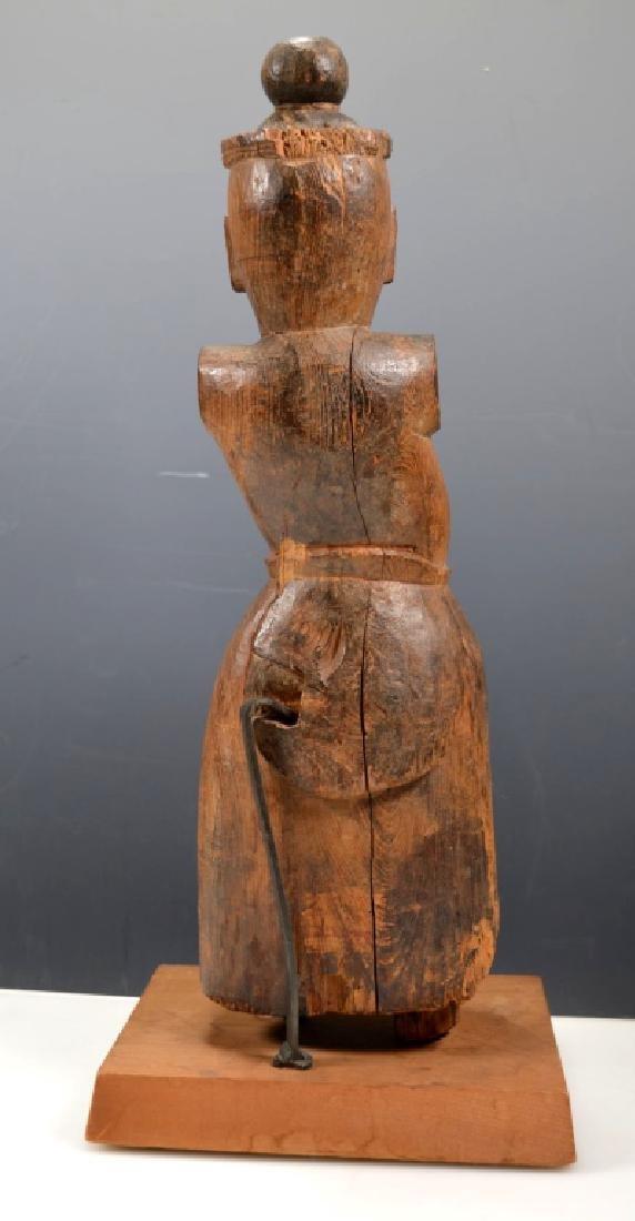 Christie's; Heian Japanese Wood Guardian - 4