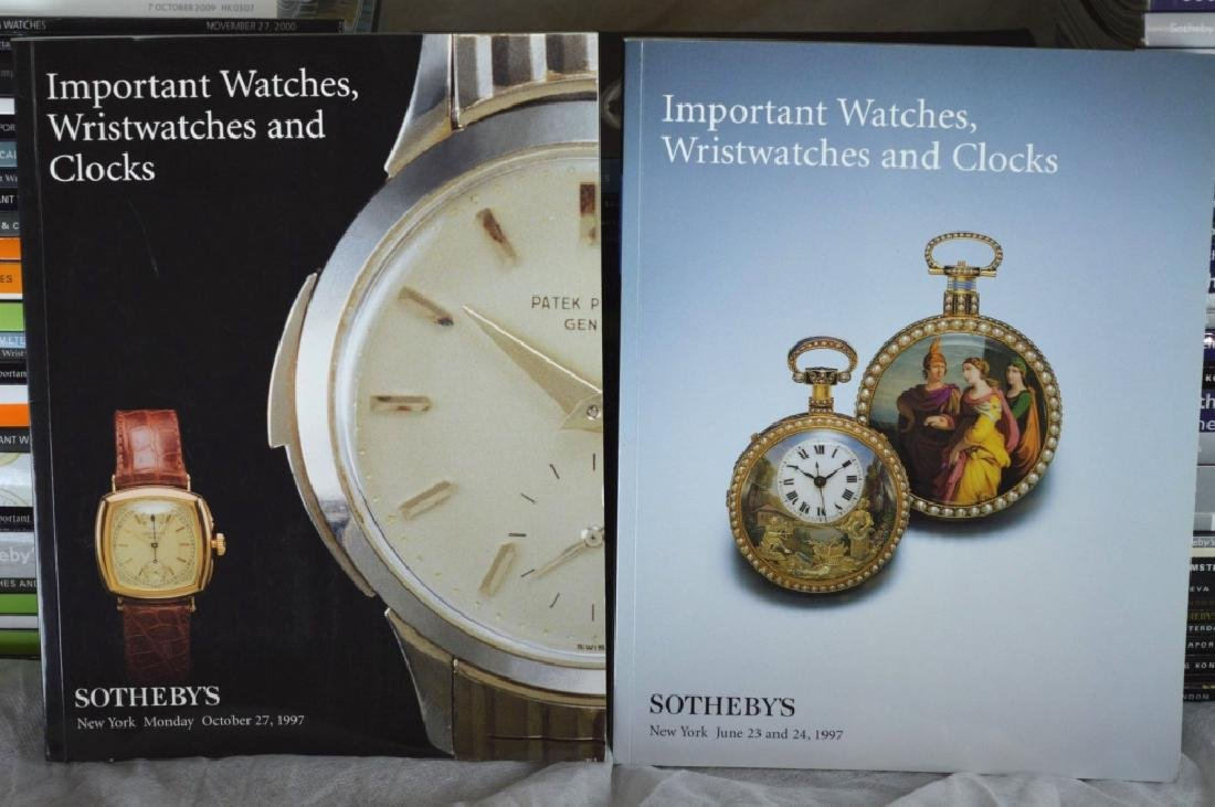 92 Sotheby's Auction Catalogues for Watches - 10