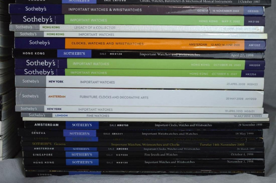 92 Sotheby's Auction Catalogues for Watches - 3