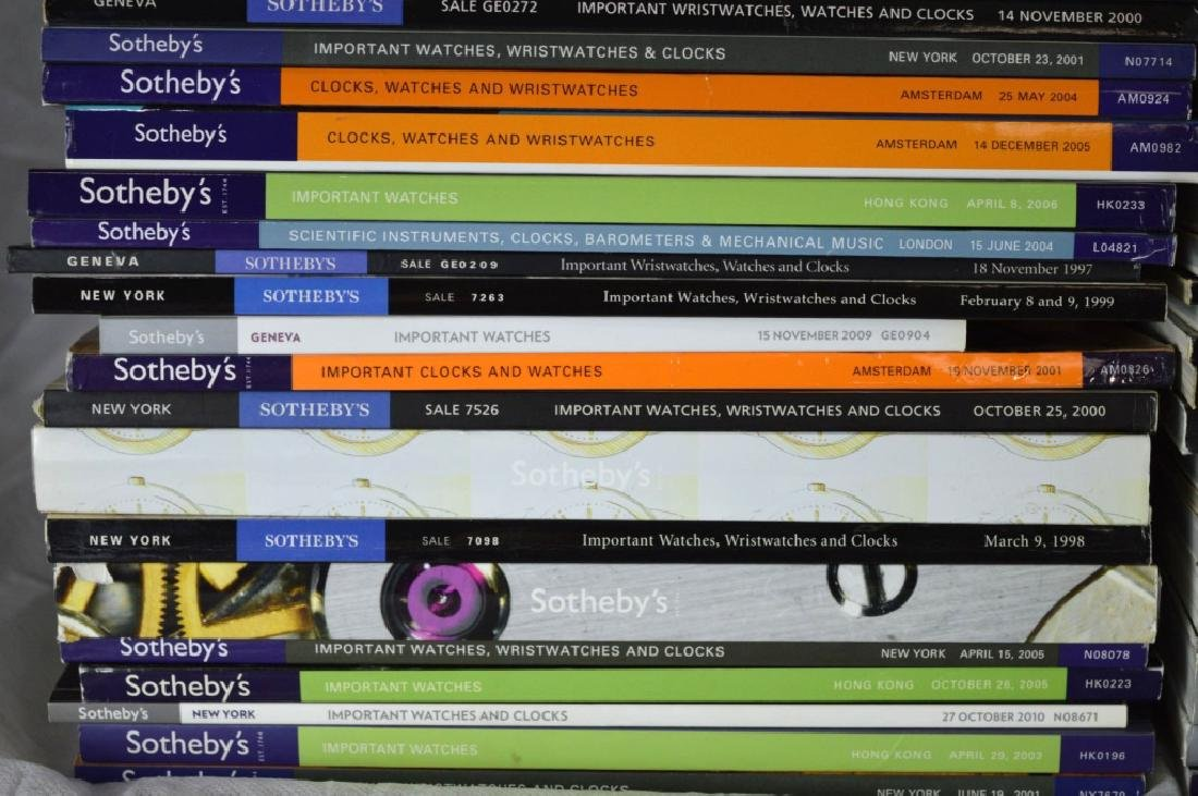 92 Sotheby's Auction Catalogues for Watches - 7