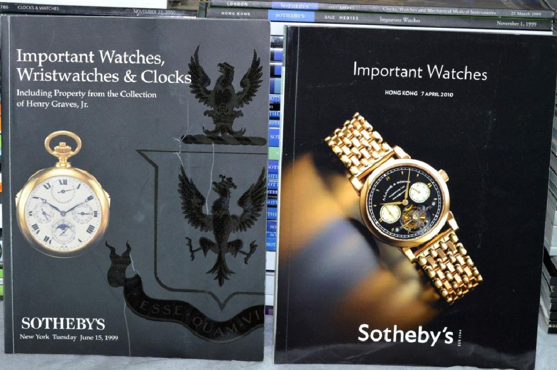 92 Sotheby's Auction Catalogues for Watches - 8