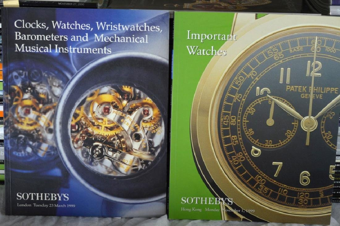 92 Sotheby's Auction Catalogues for Watches - 9