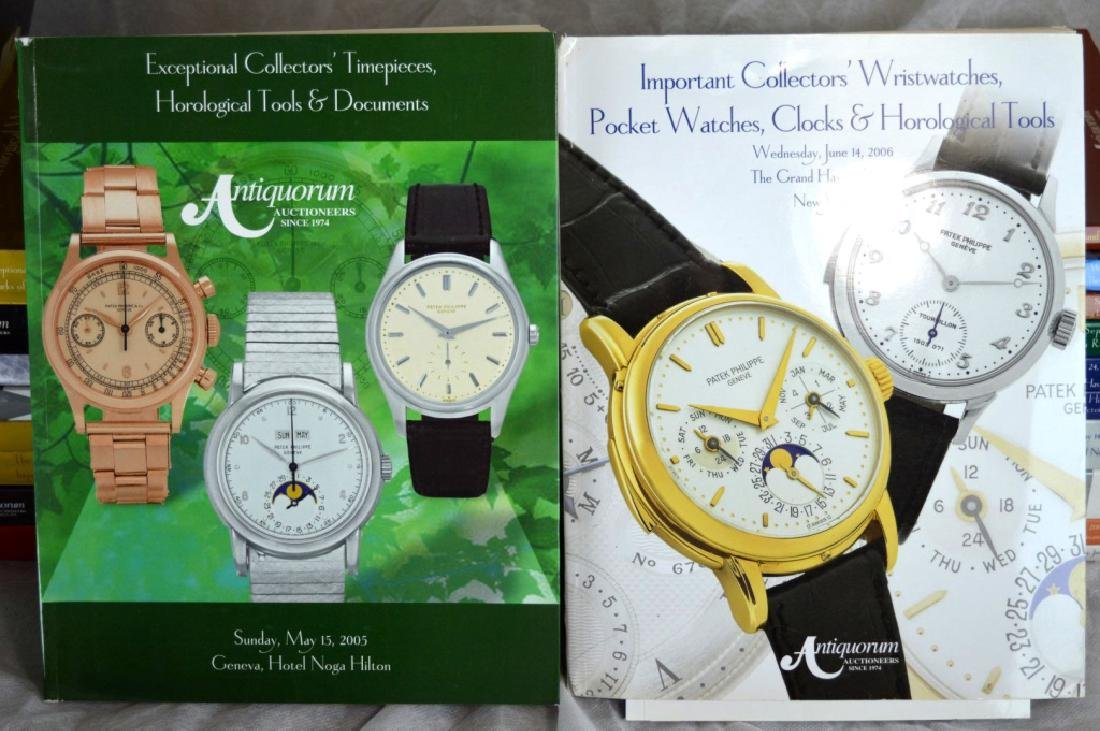 24 Antiquorum Auction Catalogues + 6 Sotheby's - 7