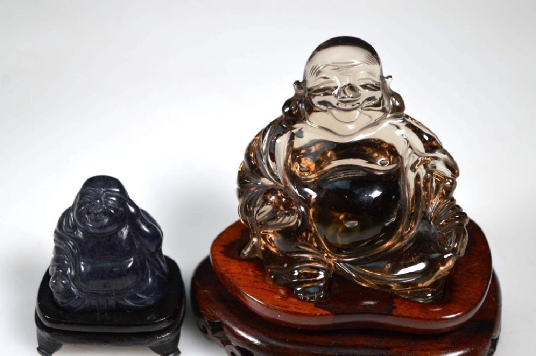 6 - Chinese Crystal, Agate, Jade Carvings - 2