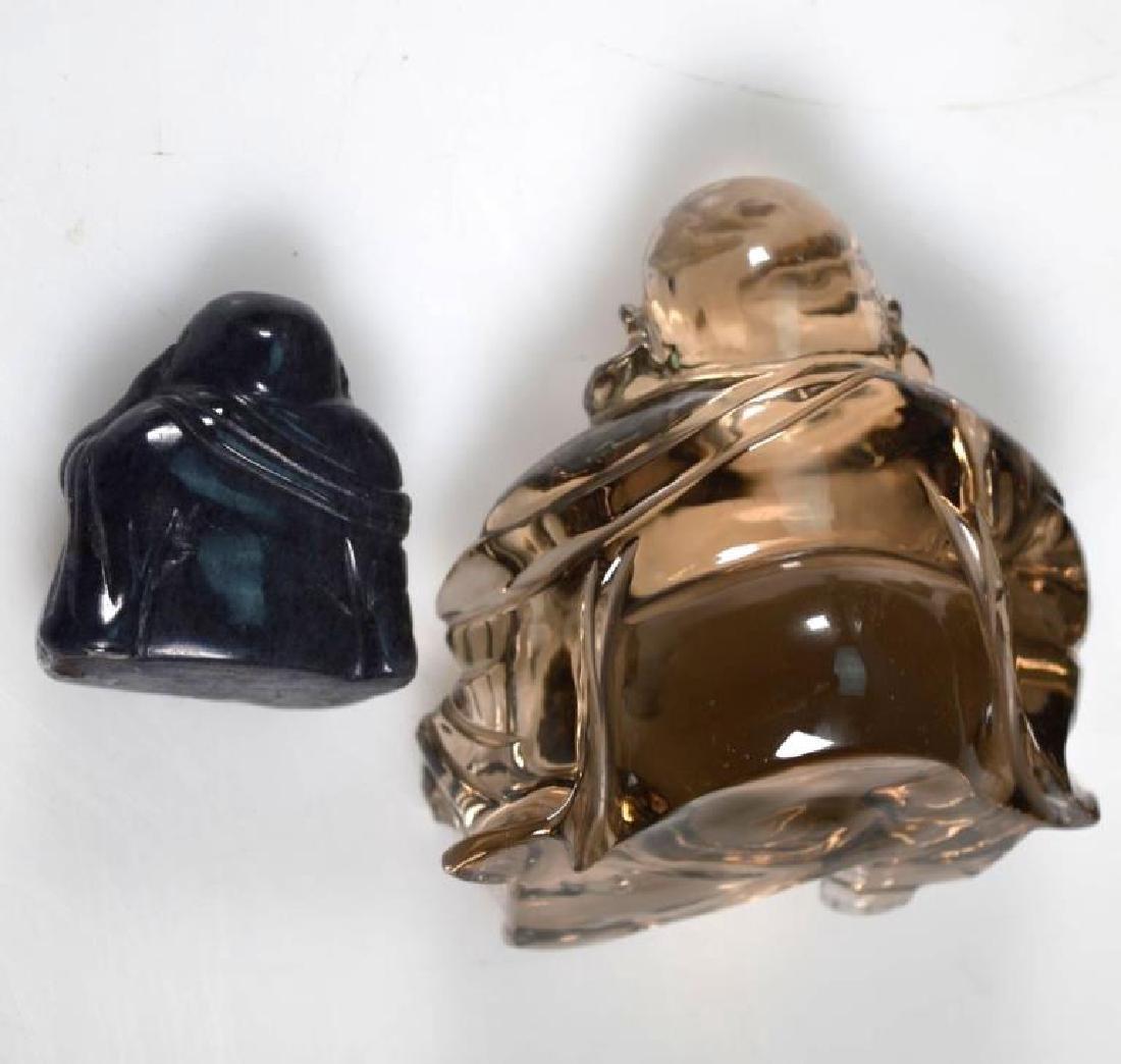 6 - Chinese Crystal, Agate, Jade Carvings - 3