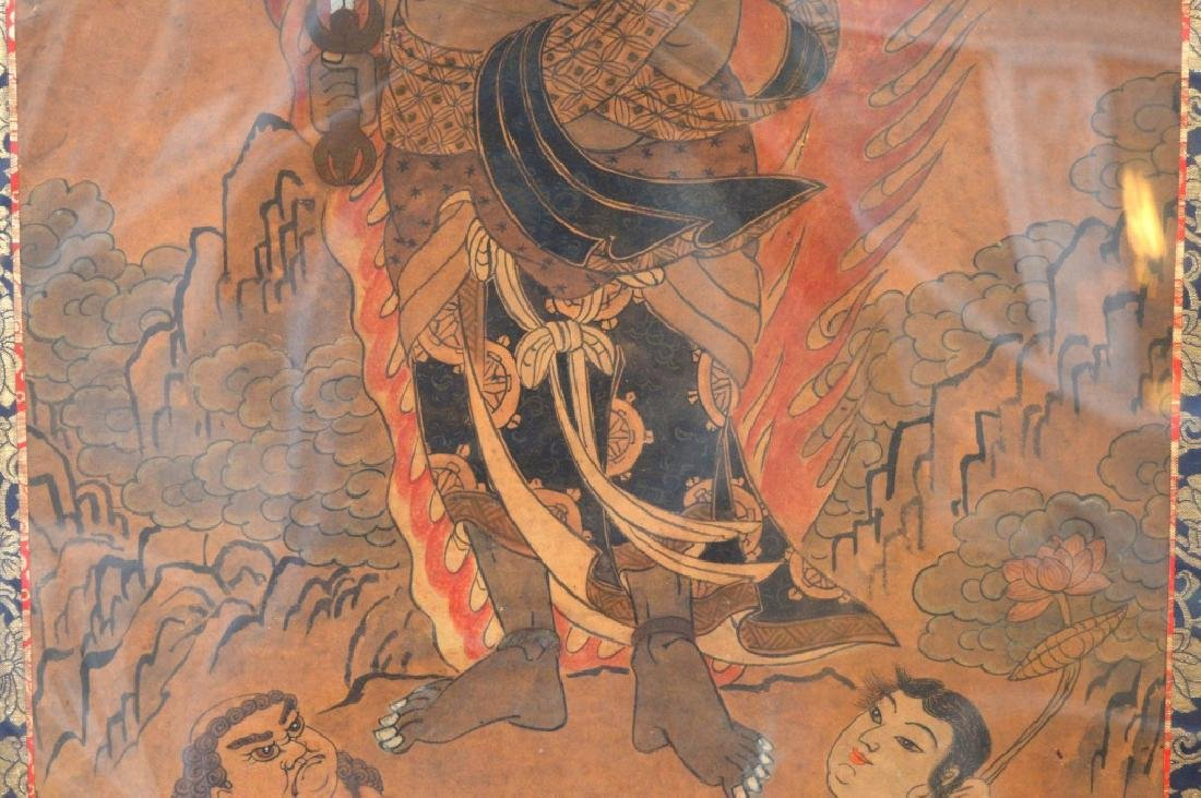 18th/19th C Japanese Painting of Fudo Myoo - 5