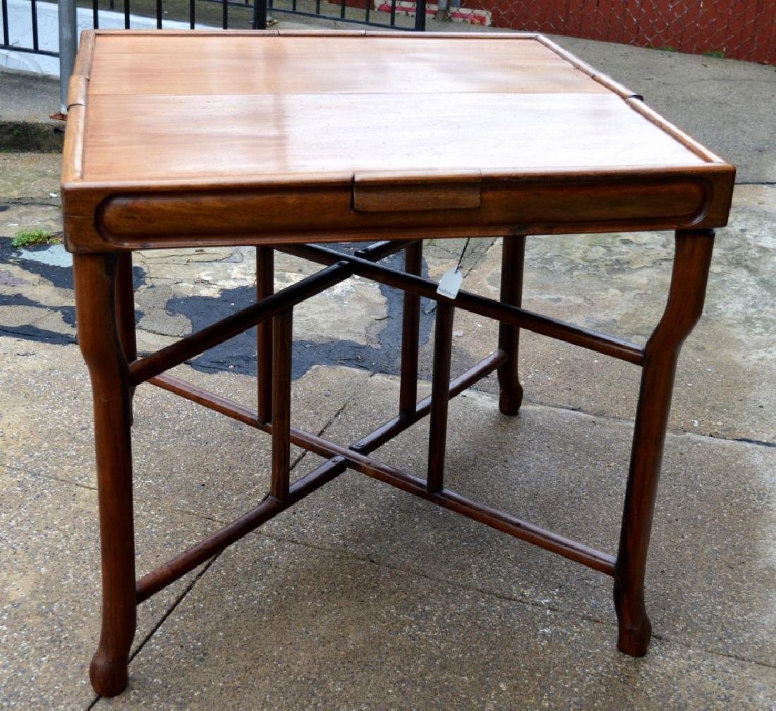 Sotheby's: Fine Sq Chinese Hardwood Folding Table