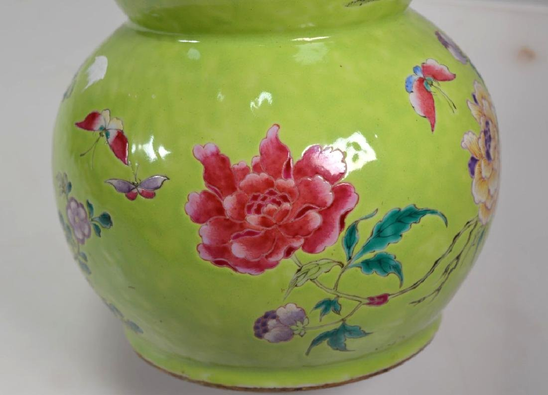 19th Century Chinese Porcelain Triple Gourd Vase - 4