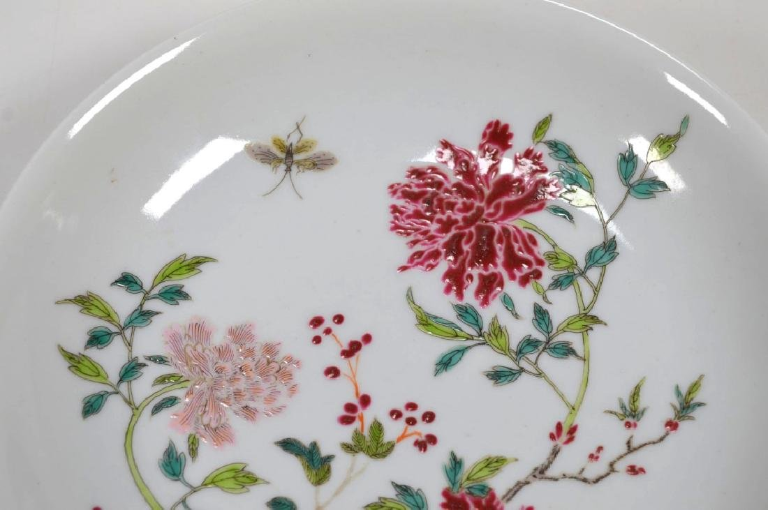 Chinese Famille Rose Enameled Porcelain Bowl - 2