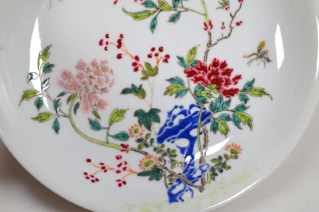 Chinese Famille Rose Enameled Porcelain Bowl - 3