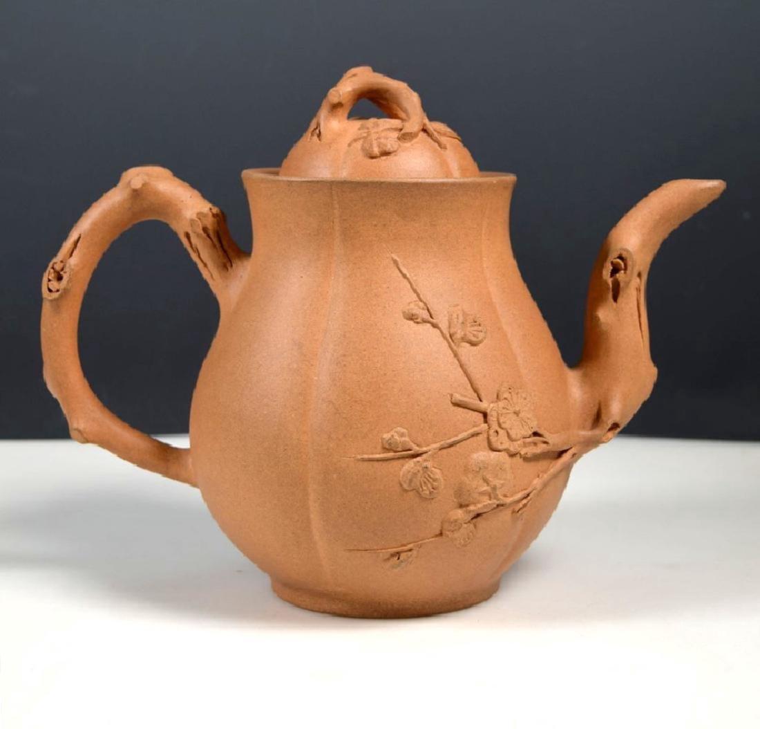Kai Zheng Chinese Yixing Ceramic Teapot & Cover - 2