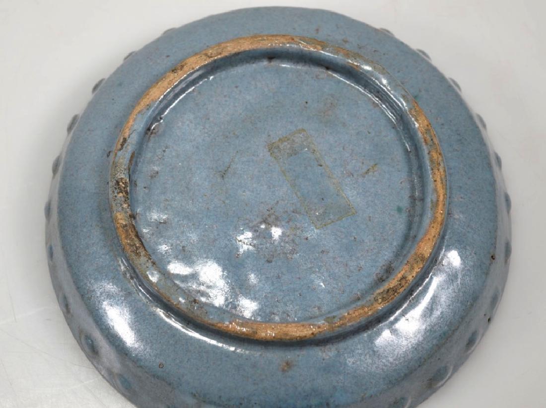 Rare 17th C Chinese Junyao Yixing Brushwasher - 4