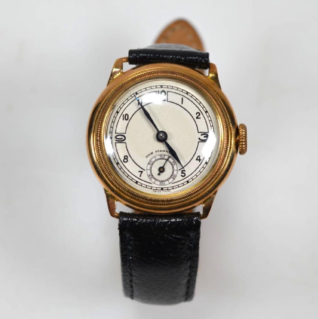 Vintage Rolex Movement Stolkace 9K Wrist Watch