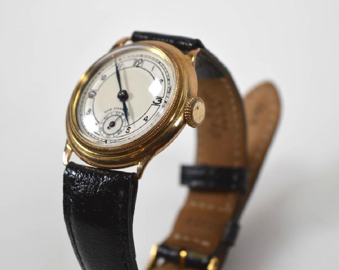 Vintage Rolex Movement Stolkace 9K Wrist Watch - 2