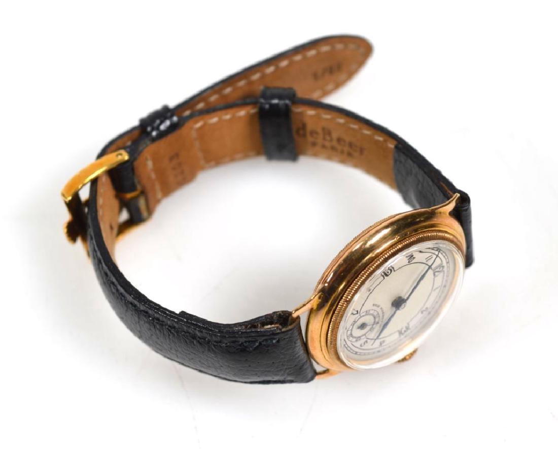 Vintage Rolex Movement Stolkace 9K Wrist Watch - 3