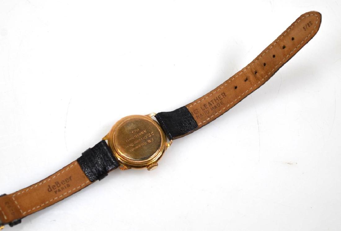 Vintage Rolex Movement Stolkace 9K Wrist Watch - 5