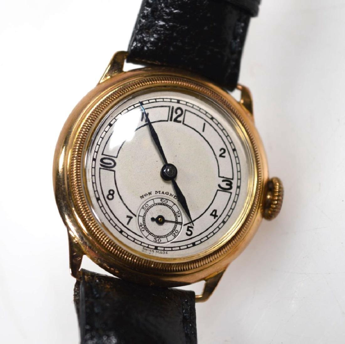 Vintage Rolex Movement Stolkace 9K Wrist Watch - 6