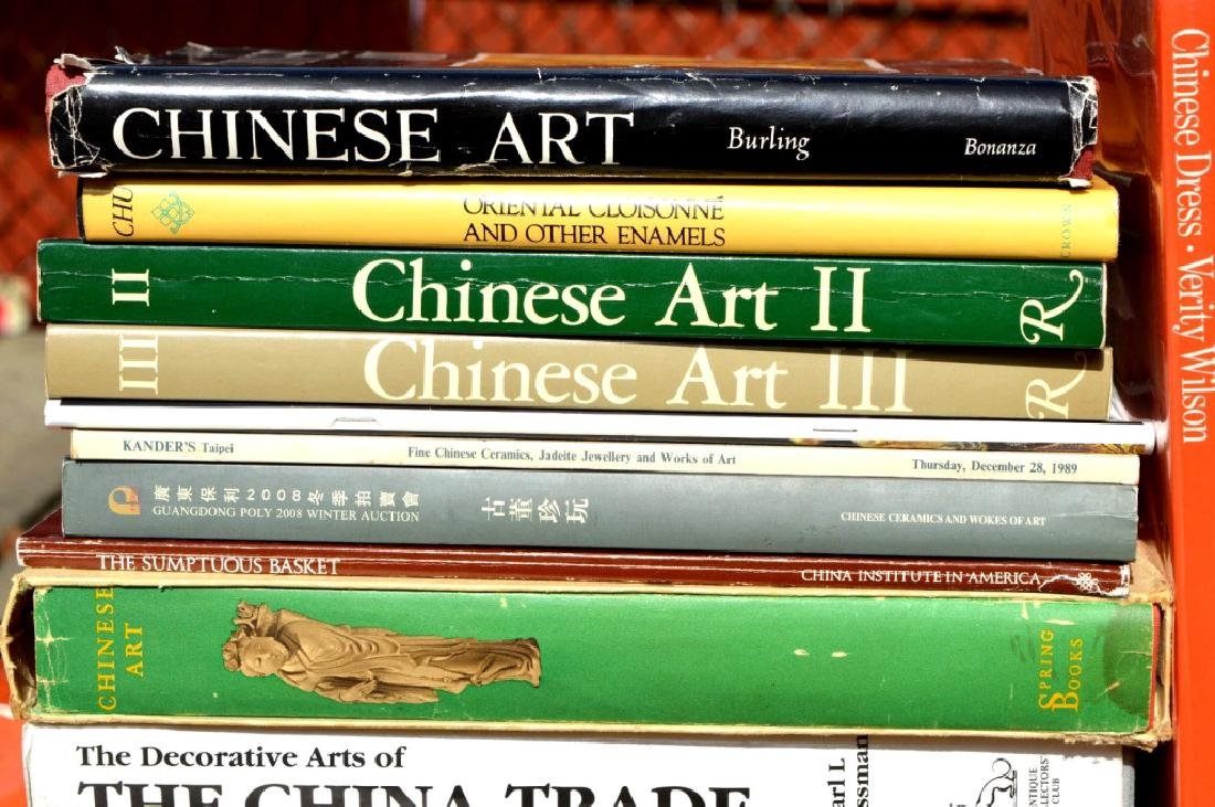 17 Books on the Decorative Works of Chinese Art - 2