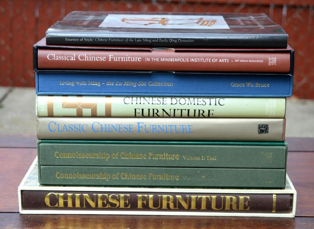 8 Rare Books on Chinese Classical Furniture