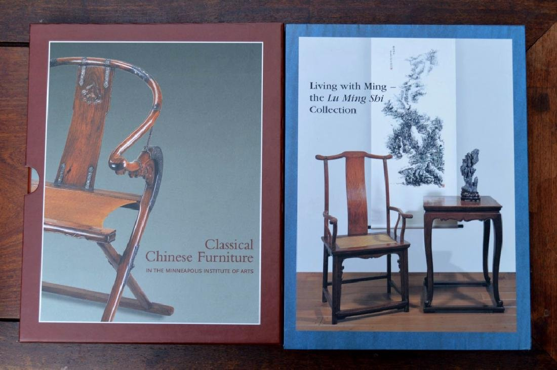 8 Rare Books on Chinese Classical Furniture - 2