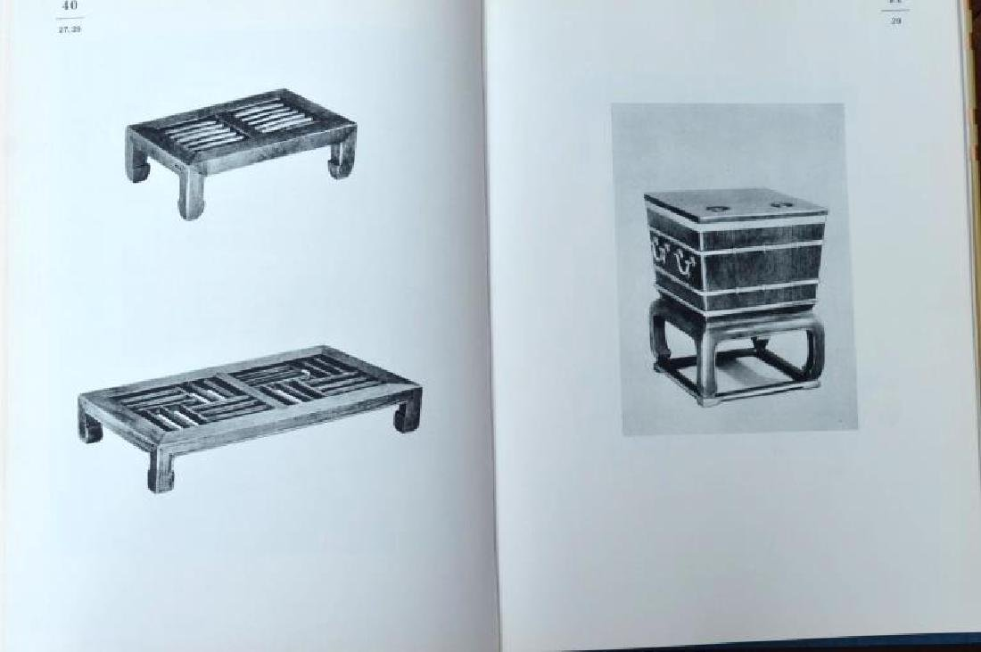 8 Rare Books on Chinese Classical Furniture - 4