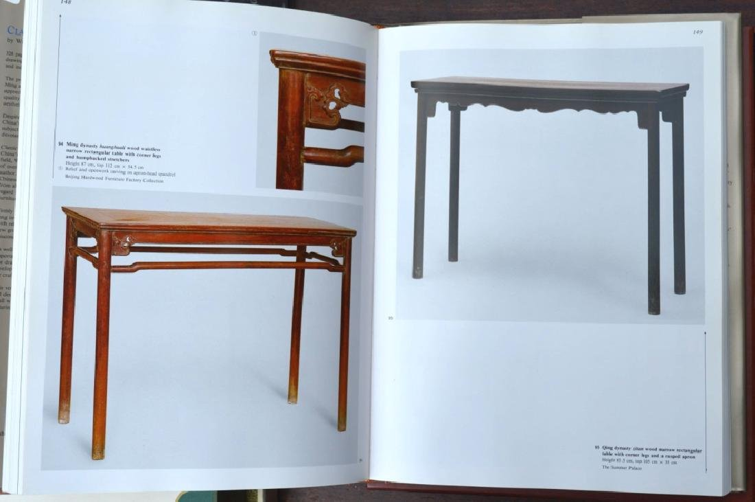 8 Rare Books on Chinese Classical Furniture - 5