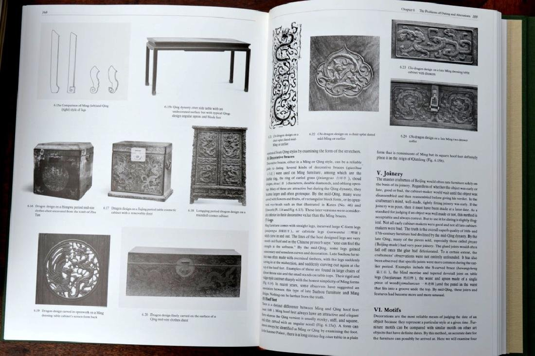 8 Rare Books on Chinese Classical Furniture - 8
