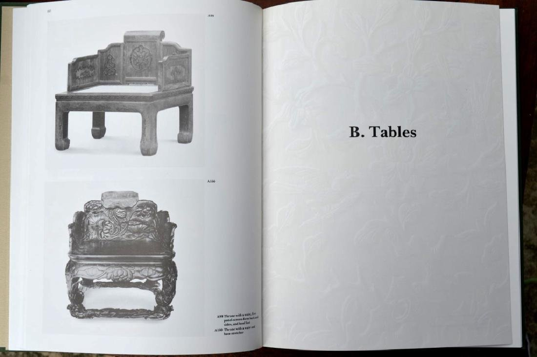 8 Rare Books on Chinese Classical Furniture - 9