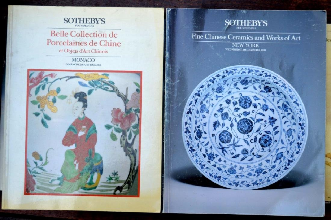 20 Rare Sotheby's Chinese Auction Catalogues - 6