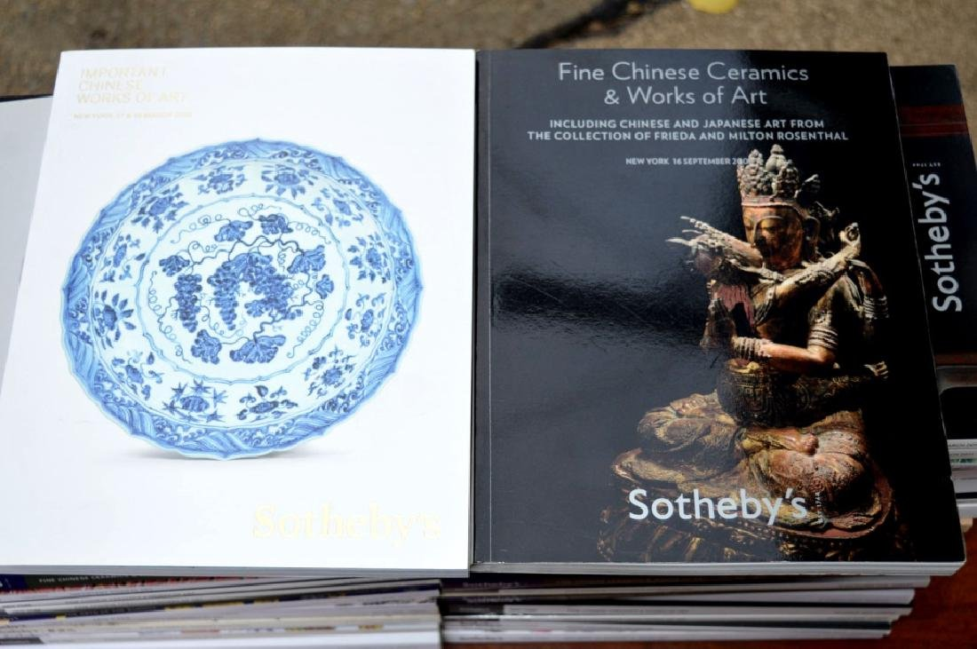 56 Sotheby's Chinese Auction Catalogues - 6