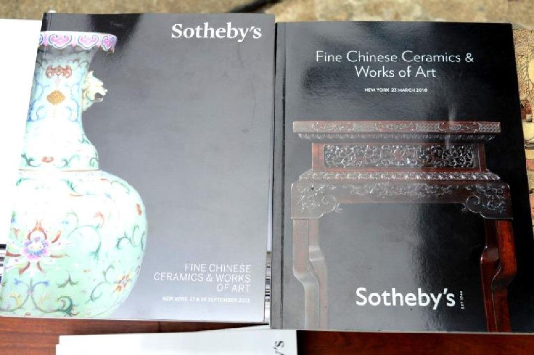 56 Sotheby's Chinese Auction Catalogues - 7
