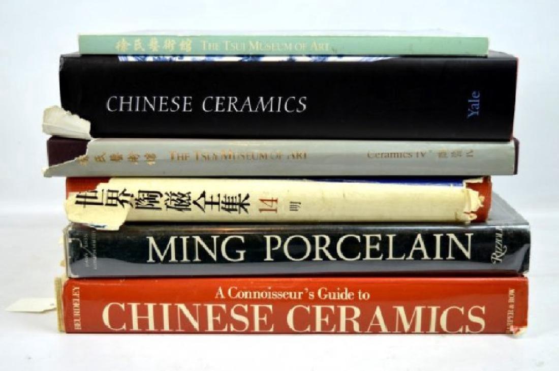 6 Books Chinese Ceramics, Tsui Museum etc