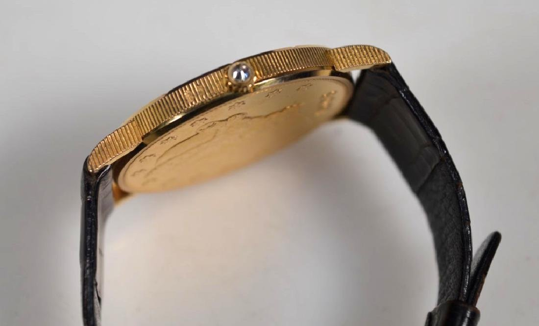 Corum; 1906 USA $20 Gold Piece Wrist Watch - 4