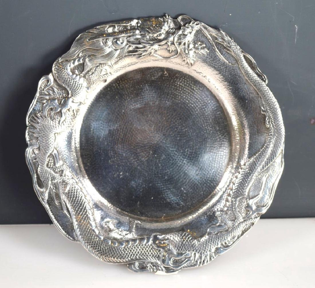 Samurai Shokai Yokohama; Japanese Sterling Silver Plate