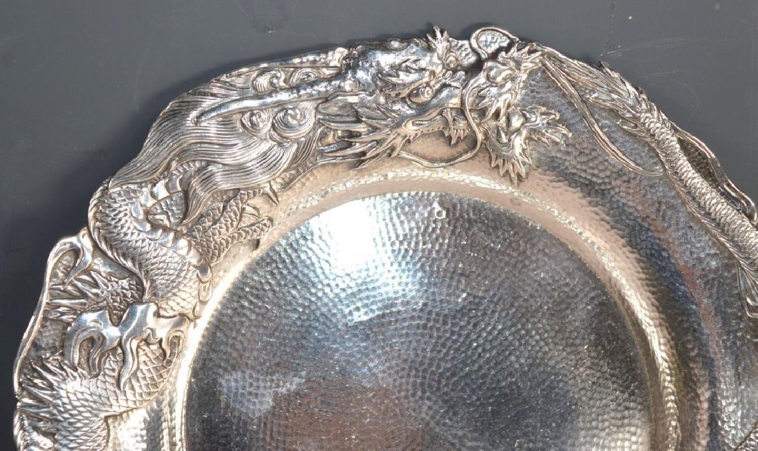 Samurai Shokai Yokohama; Japanese Sterling Silver Plate - 2