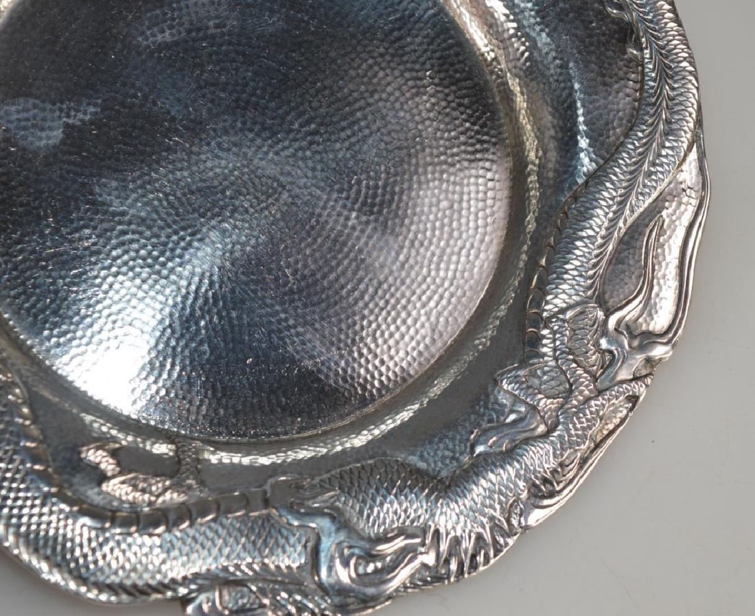 Samurai Shokai Yokohama; Japanese Sterling Silver Plate - 3